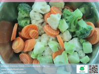 IQF mix vegetables(broccli+cauliflower+steakm) export