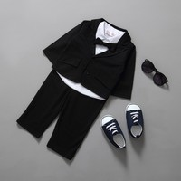 Latest design baby suit for wedding fashion shirt/pants/coat 3 pieces Kids wedding suits