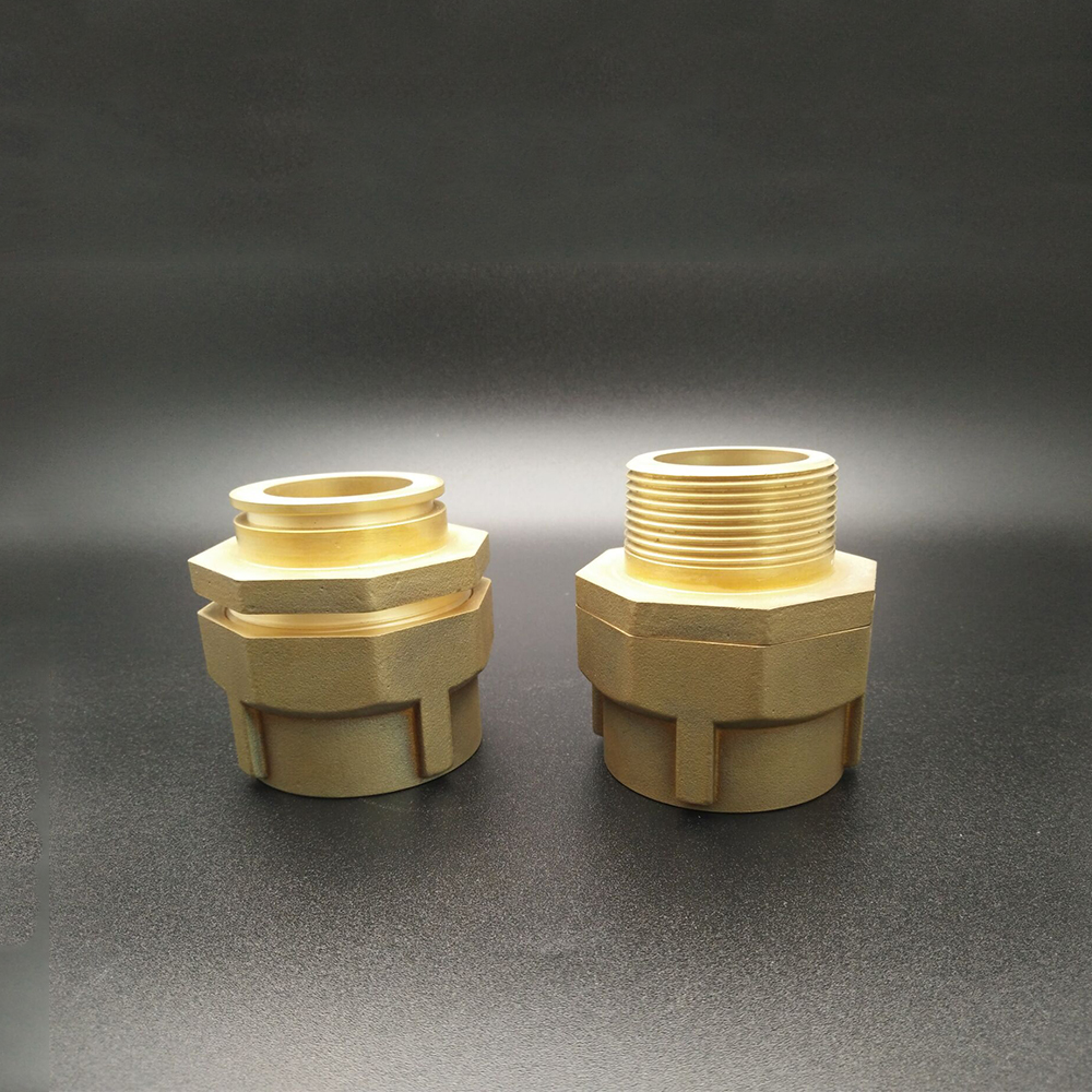 Brass reducer male connector , reducer joint BSP female Pipe for oil gas and water threaded joint