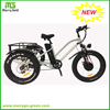 China 24inch 48V 500W 3 wheel Electric Cargo Tricycle for adults