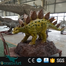 OAV5244 Resin stegosaurus fiberglass dinosaur for sale