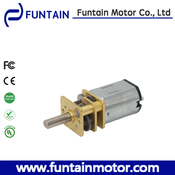 12mm dc 12v 24v encoder gear motor