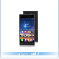 Low Price China Mobile Phone Leagoo lead 5 MTK6582 Quad Core 1.3GHz 1GB+8GB Android 4.4 3G Smartphone