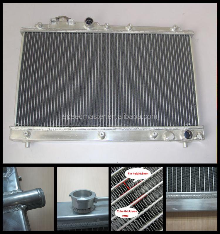 Cheap price car aluminum radiator for b mw fit fan motor for Radiator fan motor price