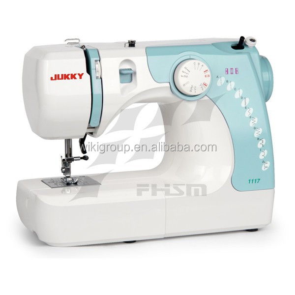 1117 household mini hand sewing machine with aluminium body in side