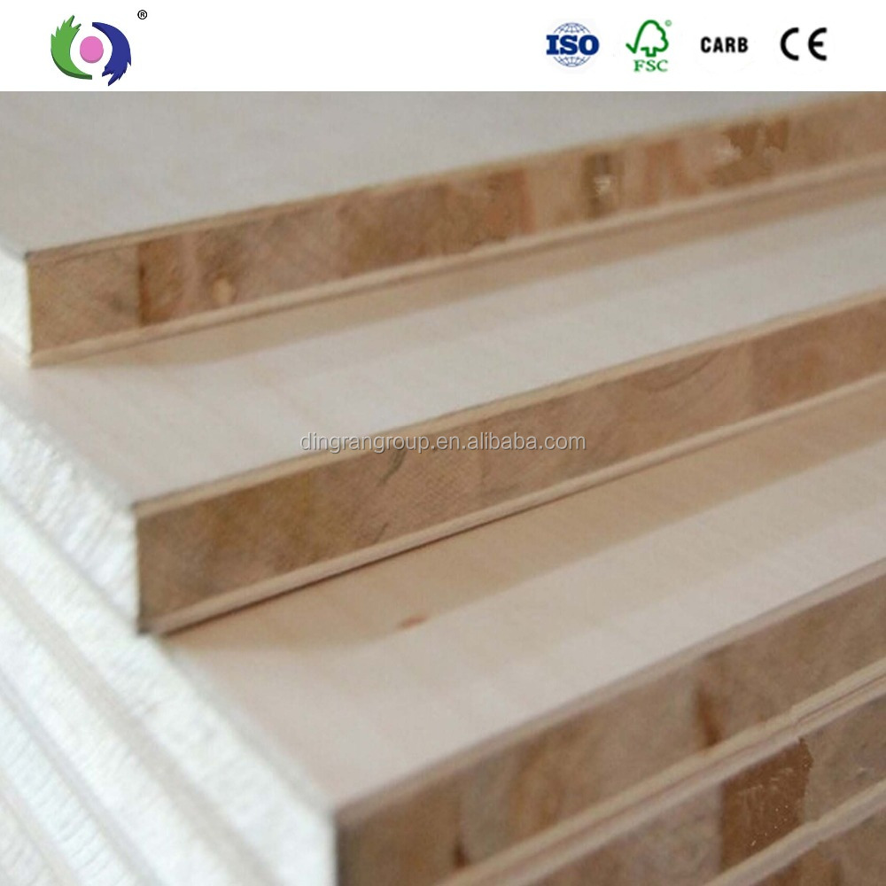Pine / poplar lumber / block low price from factory