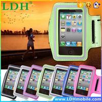 For Apple iphone 4 4S 5 5G 5s Waterproof Gym Running Arm Band Cover Durable Sports Arm Holder Pounch Belt Case Phone Accessories