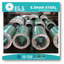 Zinc and aluzinc coated secondary coil galvanized galvalumed over rolled steel coil