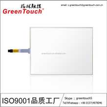 4wire touch panel resistive touch screen touch glass for industrial Monitor