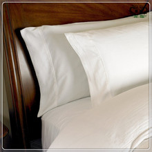 Home Hotel Supplier 40S White Pillow Cover Soft Cotton Pillow Case