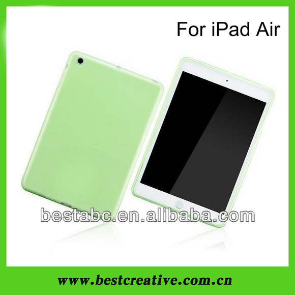 Matte TPU Gel Case for iPad 5,Soft Gel Case Cover,2013 New arrivail