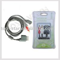 Factory price of VGA HD AV Cable for XBOX 360