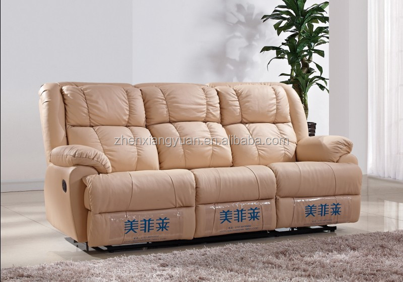 New design cheap recliner sofa, leather sofa for living room