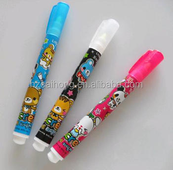 mini or short barrel hot-sale uv Light Invisible Ink Pen Ideal For Promotion CH-0816