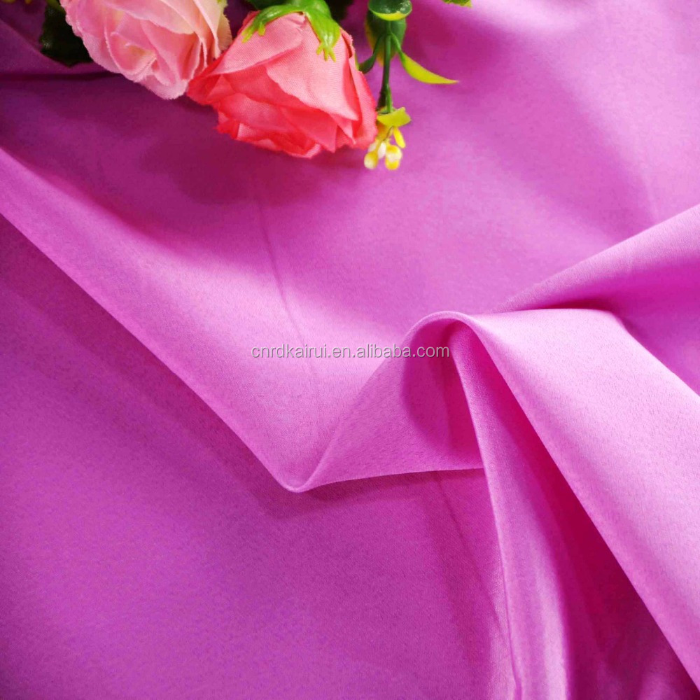 China supplier dri fit 100 polyester Eco-friendly soft pongee lining fabric for jersey sportswear