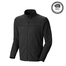 Man Cheap Reversible Polar Fleece Softshell Jacket