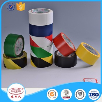 Excellent Flexibility Easy Tear Rubber Zebra Tape