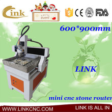 Competitive price 4 axis cnc router engraver machine/automatic 3d wood carving cnc router/small size 600*900mm