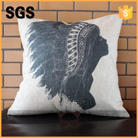 home decoration square hotel cloth cushion cover for garden decorative