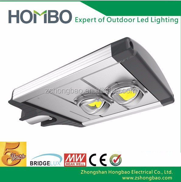 High Power Led Street Lamp 30w 60w 80w 100lm/w Bridgelux led street lamp