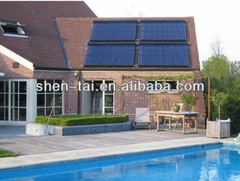 EN12975 Swimming Pool Solar Collector with Copper Heat Pipe SCM20-58/1800-01