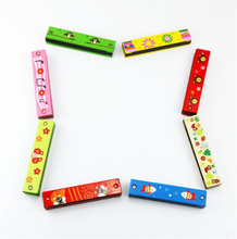 FQ brand early educational new Fashional mini musical instrument Children Harmonica
