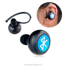 Mini wireless bluetooth headset auriculares del deporte manos libres mono auriculares