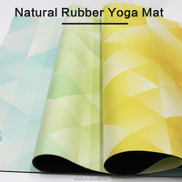 Hotest customized OEM eco friendly natural rubber yoga mat private label