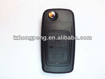 flip remote car key shell for Chery key cover
