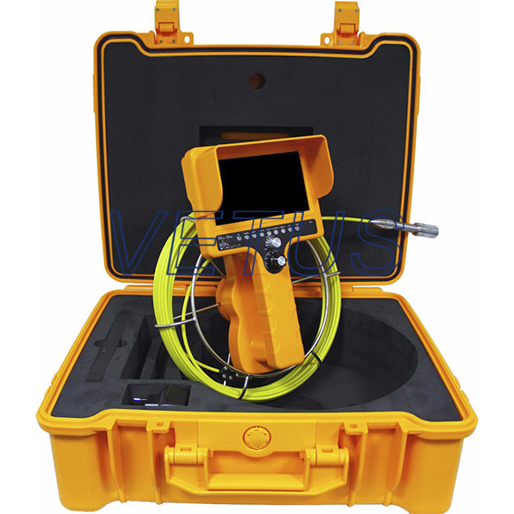 710DN-SCJ Industrial drain inspection camera With ABS Case & Meter Counter