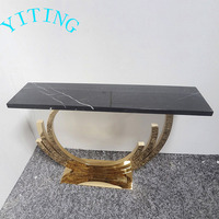 Home Furniture Marble Top Rectangular Table
