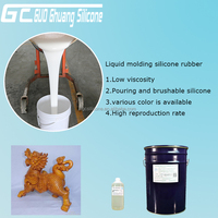 RTV2 silicone rubber for epoxy resin products making molds raw
