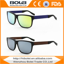 new real revo lens acetate metal combo private label sunglasses