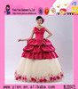 2018 Facebook hot sale flower wedding dress cheaper price custom made wedding dress