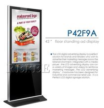 led advertising display screen/lcd advertisement display with bus