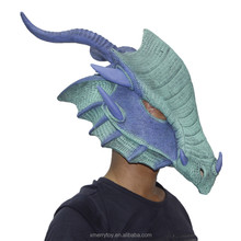 Latex Arctic Dragon Mask Halloween Adult Dragon Overhead Animal Costume Rubber Masquerade Party Masks Fancy Dress