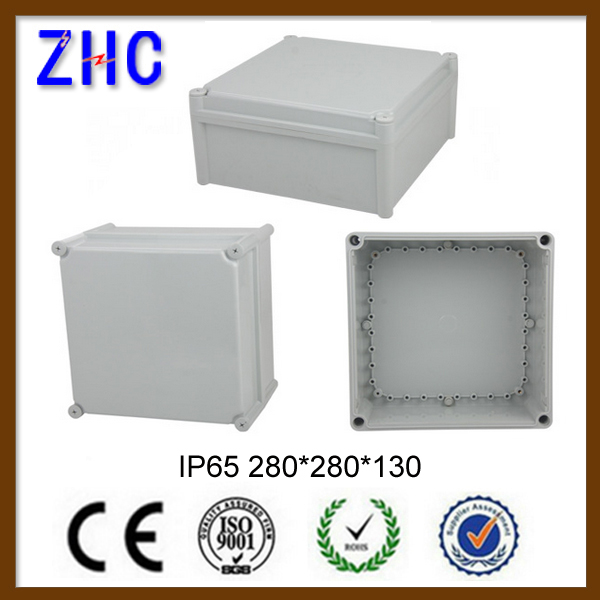 280*280*130 Large Junction Box IP65 ABS Box for Instrument Outdoor New Plastic Electrical Enclosure