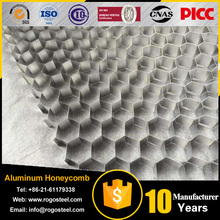 Aluminum foil thickness 0.04mm-0.2mm pp pc the plastic honeycomb core with certificate