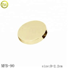 MFB90 Gold blank making durable custom metal shank button for coats
