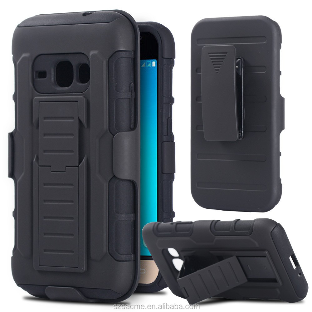 For Samsung Galaxy A3 2017 A320 Belt Clip Hybrid Holster Stand Case
