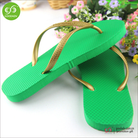 2016 new fancy rubber sole sheet flip flops