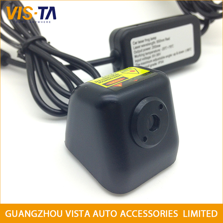 Newest product universal car rear anti collision laser fog light in the foggy day