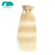 wet and wavy brazilian 613 blonde straight virgin hair weave