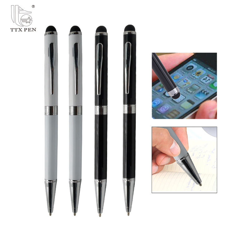 Best selling company logo pen with stylus pen size mobile