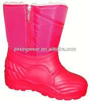 New Injection blue jean boots for outdoor and promotion,light and comforatable