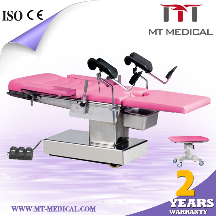 Gynecology examination bed Gynecology Operating Bed Obstetric Delivery Table