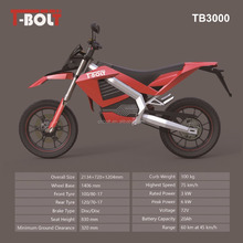 TINBOT New Electric MOTORCYCLE With Extra Battery Charging Separately 72v 3000w Electric Motorcycle