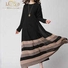 Designer new coming boho islamic clothing chiffon kaftan muslimah dress