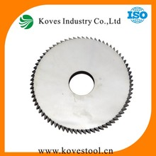 Tungsten tipped circular pcb cutting saw blade with various size