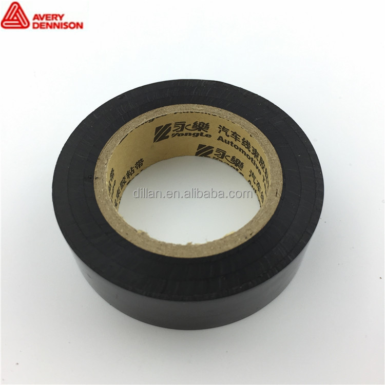 Low VOC self - adhesive insulating automotive wiring harness PVC duct tape